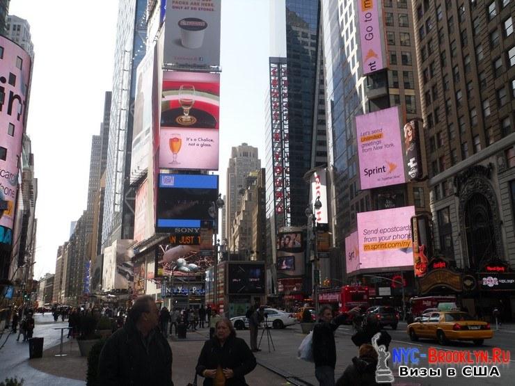 27. Фотоотчет Площадь Таймс Сквер в Нью-Йорке. Times Square New York - NYC-Brooklyn