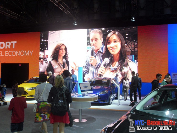 28. Автошоу в Нью-Йорке 2012. New York Auto Show - NYC-Brooklyn
