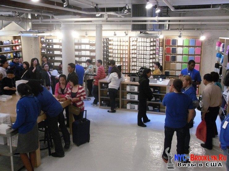 28. Магазин Apple Store в Нью-Йорке, в SoHo - NYC-Brooklyn