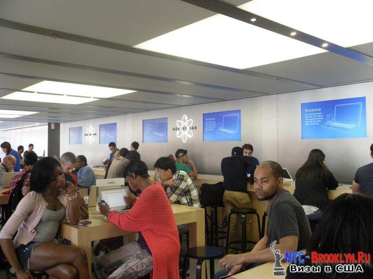 28. Магазин Apple Store в Нью-Йорке, на West 14th Street - NYC-Brooklyn