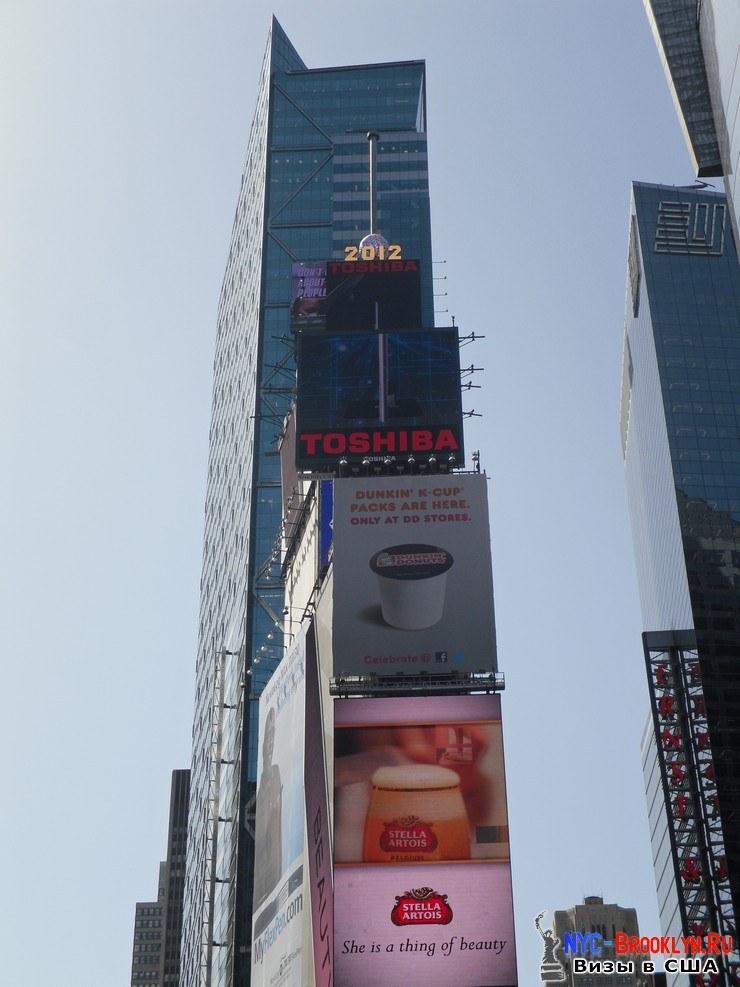 28. Фотоотчет Площадь Таймс Сквер в Нью-Йорке. Times Square New York - NYC-Brooklyn