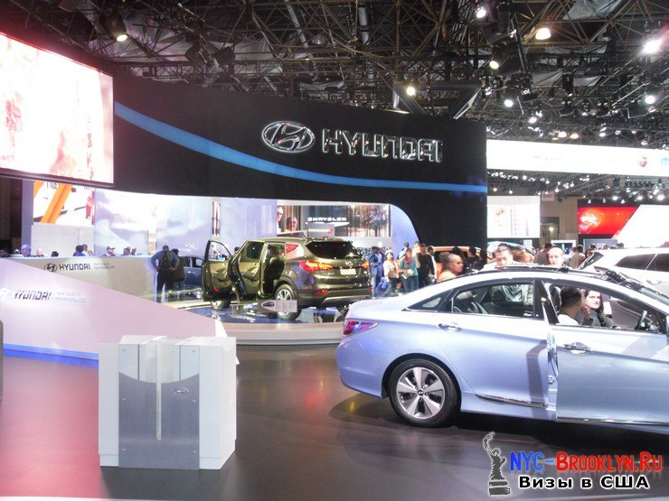 29. Автошоу в Нью-Йорке 2012. New York Auto Show - NYC-Brooklyn
