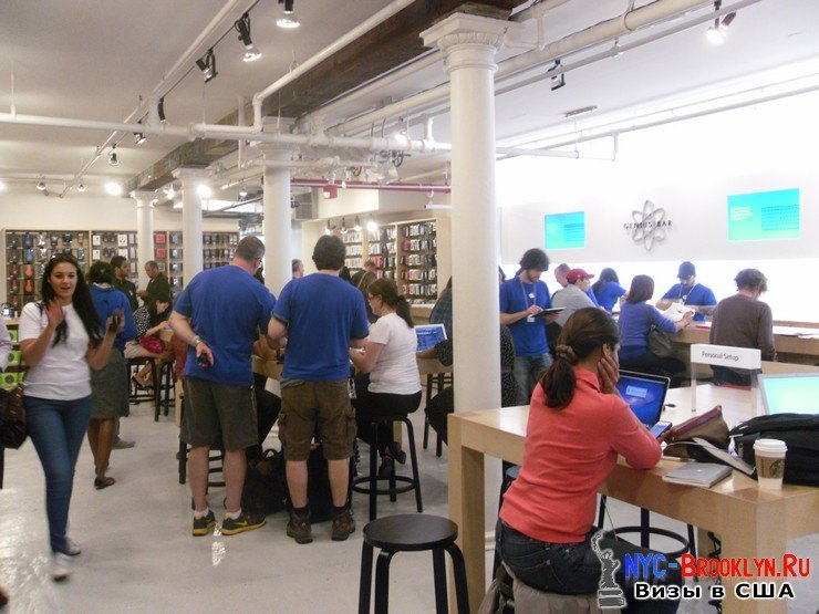 29. Магазин Apple Store в Нью-Йорке, в SoHo - NYC-Brooklyn