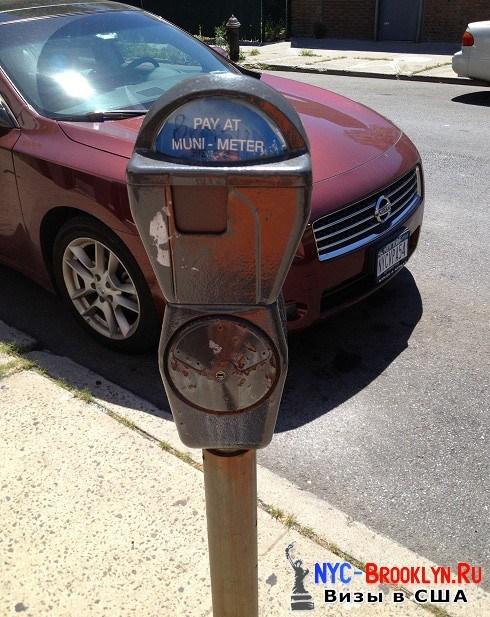 3. Автоматы парковочных мест в Америке - NYC-Brooklyn