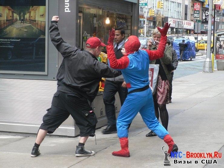 3. Человек-Паук в Нью-Йорке. Spider-Man New York - NYC-Brooklyn