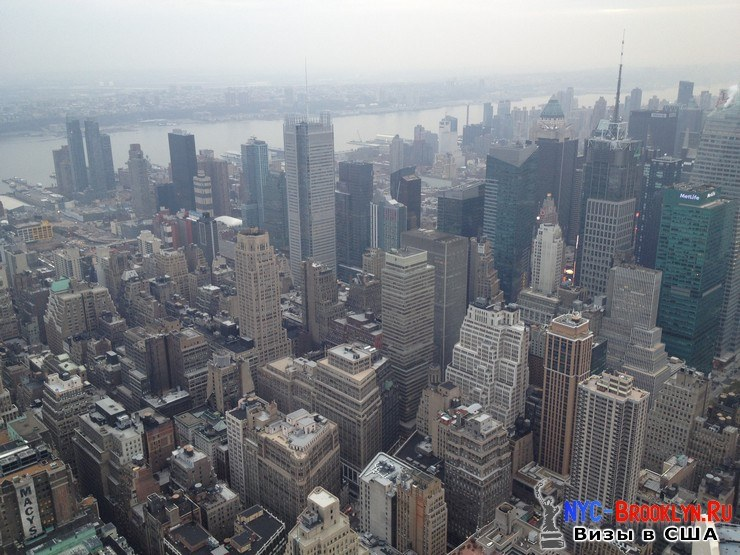 30. Фотоотчет Эмпайр Стейт Билдинг, Нью-Йорк, Empire State Building, New York - NYC-Brooklyn