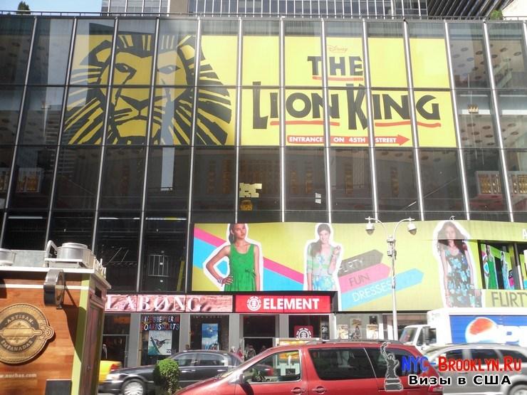33. Фотоотчет Площадь Таймс Сквер в Нью-Йорке. Times Square New York - NYC-Brooklyn