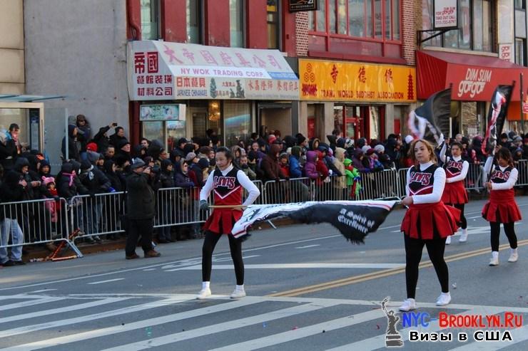35. Парад в Нью-Йорке восточного Нового Года 2013 в Чайна Тауне - NYC-Brooklyn