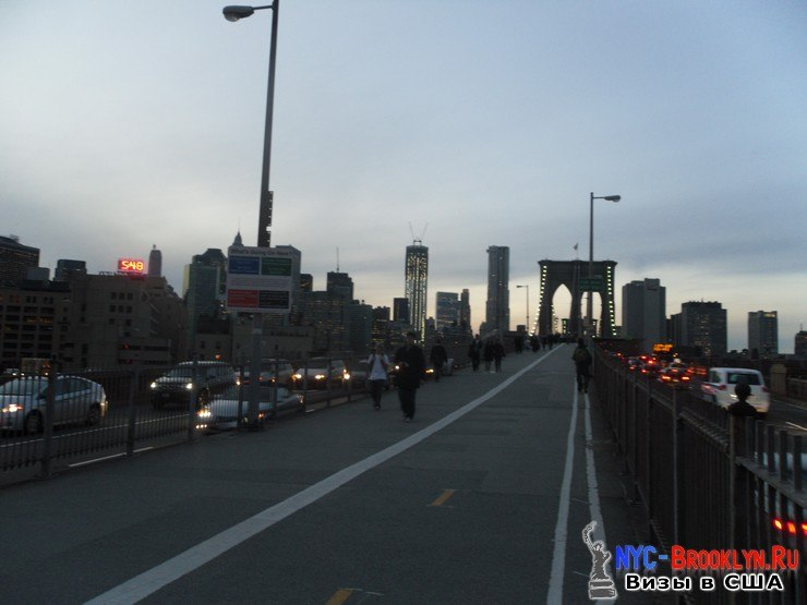 42. Фотоотчет Бруклинский Мост в Нью-Йорке. Brooklyn Bridge New York - NYC-Brooklyn