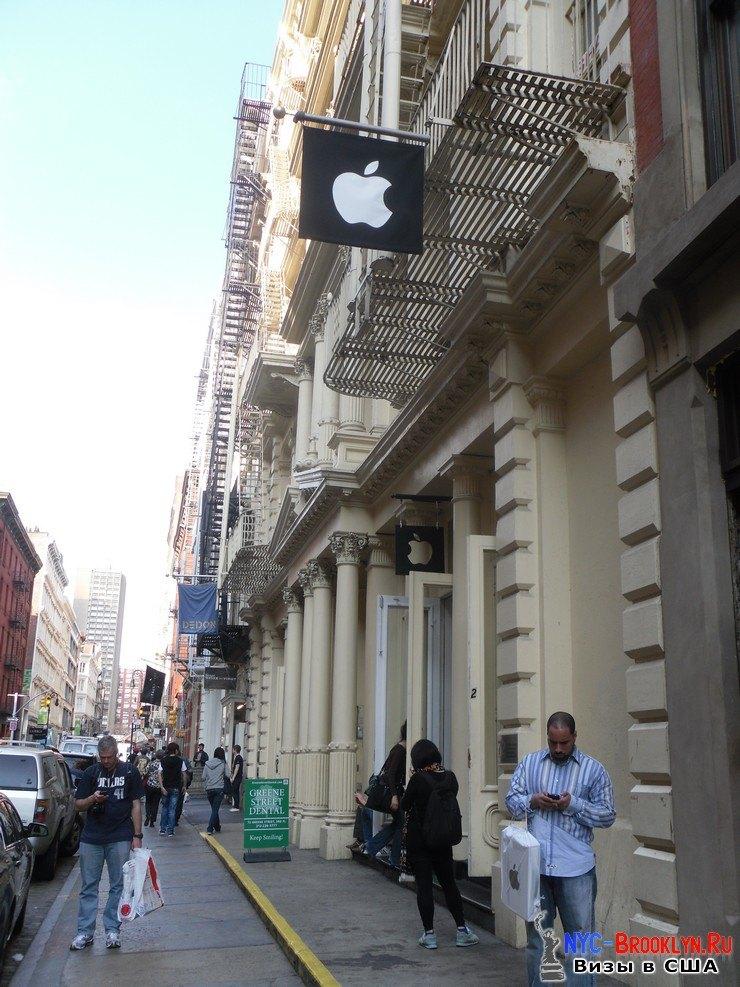 43. Магазин Apple Store в Нью-Йорке, в SoHo - NYC-Brooklyn