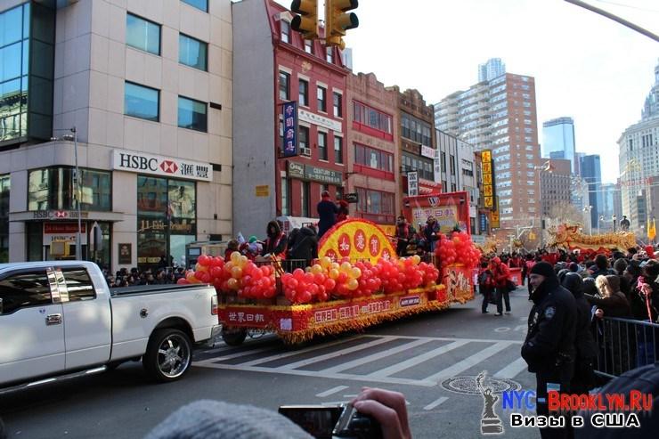 44. Парад в Нью-Йорке восточного Нового Года 2013 в Чайна Тауне - NYC-Brooklyn
