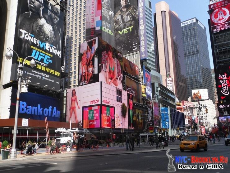 45. Фотоотчет Площадь Таймс Сквер в Нью-Йорке. Times Square New York - NYC-Brooklyn