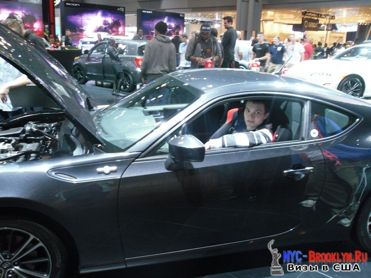 46. Автошоу в Нью-Йорке 2012. New York Auto Show - NYC-Brooklyn