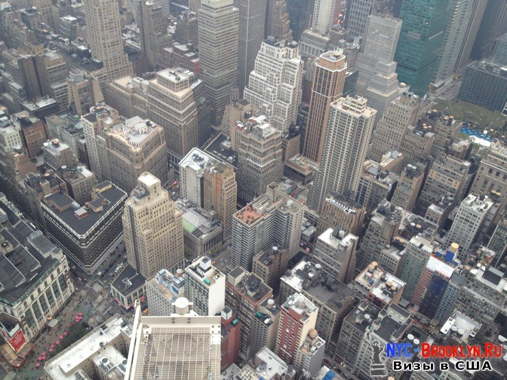 46. Фотоотчет Эмпайр Стейт Билдинг, Нью-Йорк, Empire State Building, New York - NYC-Brooklyn