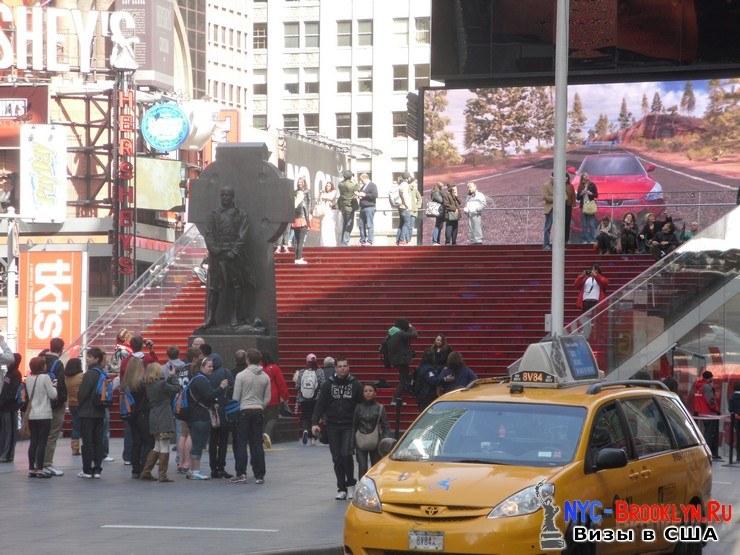 47. Фотоотчет Площадь Таймс Сквер в Нью-Йорке. Times Square New York - NYC-Brooklyn
