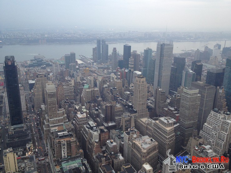 47. Фотоотчет Эмпайр Стейт Билдинг, Нью-Йорк, Empire State Building, New York - NYC-Brooklyn