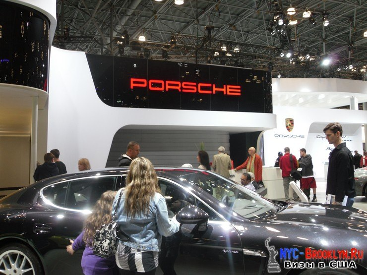 51. Автошоу в Нью-Йорке 2012. New York Auto Show - NYC-Brooklyn