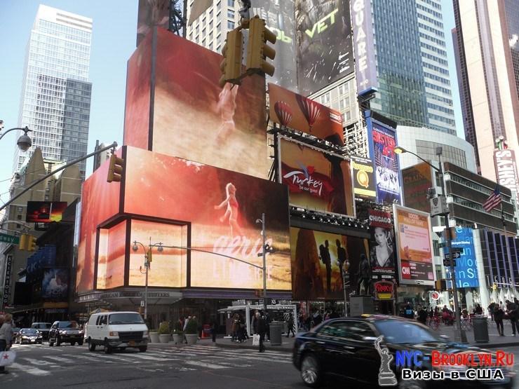 52. Фотоотчет Площадь Таймс Сквер в Нью-Йорке. Times Square New York - NYC-Brooklyn