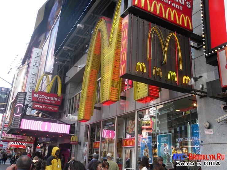 54. Фотоотчет Площадь Таймс Сквер в Нью-Йорке. Times Square New York - NYC-Brooklyn