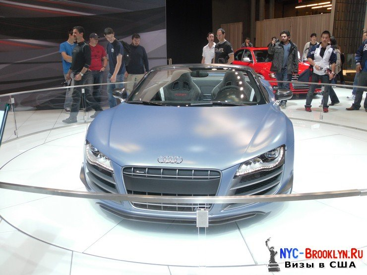 57. Автошоу в Нью-Йорке 2012. New York Auto Show - NYC-Brooklyn