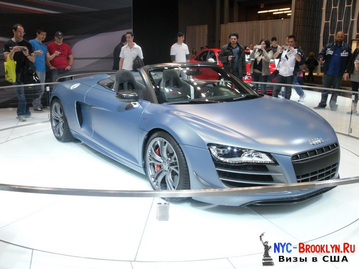58. Автошоу в Нью-Йорке 2012. New York Auto Show - NYC-Brooklyn