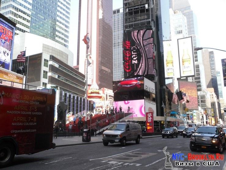 58. Фотоотчет Площадь Таймс Сквер в Нью-Йорке. Times Square New York - NYC-Brooklyn