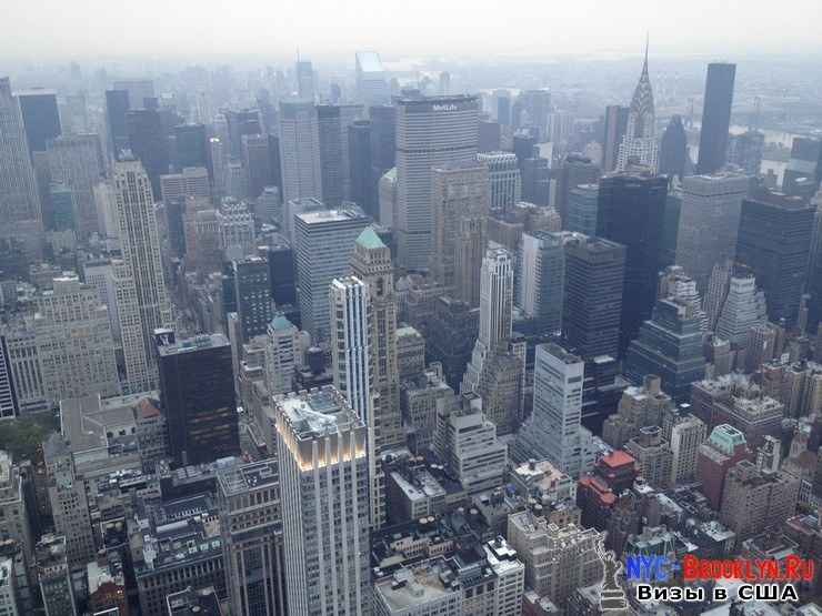 58. Фотоотчет Эмпайр Стейт Билдинг, Нью-Йорк, Empire State Building, New York - NYC-Brooklyn
