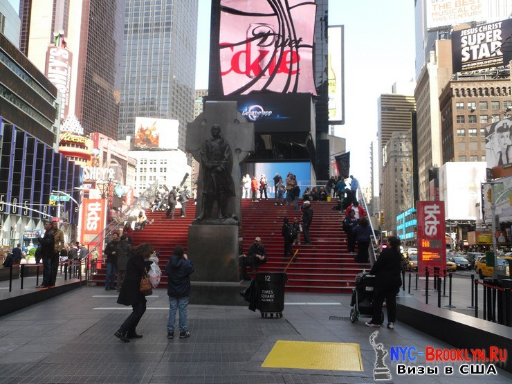 59. Фотоотчет Площадь Таймс Сквер в Нью-Йорке. Times Square New York - NYC-Brooklyn