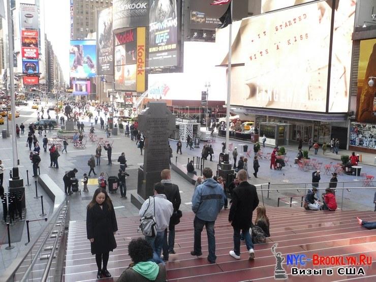60. Фотоотчет Площадь Таймс Сквер в Нью-Йорке. Times Square New York - NYC-Brooklyn