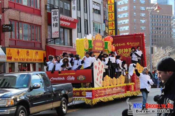62. Парад в Нью-Йорке восточного Нового Года 2013 в Чайна Тауне - NYC-Brooklyn