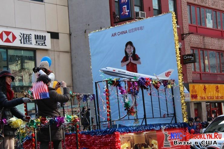 66. Парад в Нью-Йорке восточного Нового Года 2013 в Чайна Тауне - NYC-Brooklyn