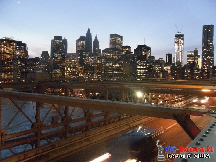 67. Фотоотчет Бруклинский Мост в Нью-Йорке. Brooklyn Bridge New York - NYC-Brooklyn