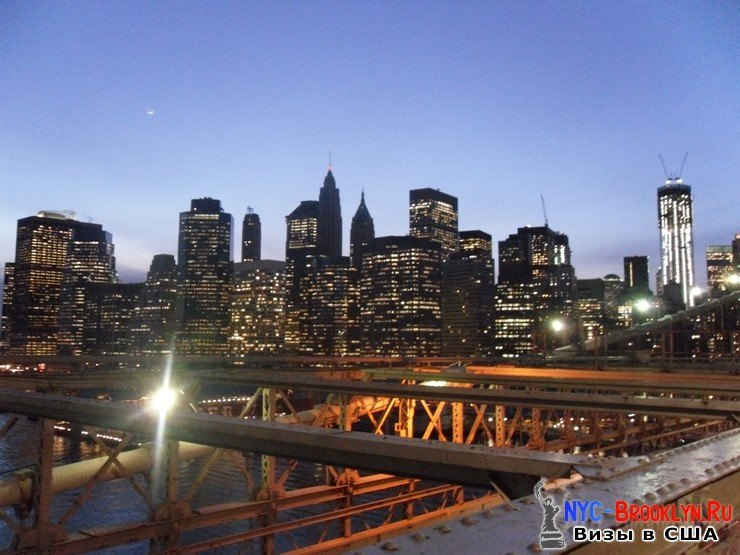 68. Фотоотчет Бруклинский Мост в Нью-Йорке. Brooklyn Bridge New York - NYC-Brooklyn