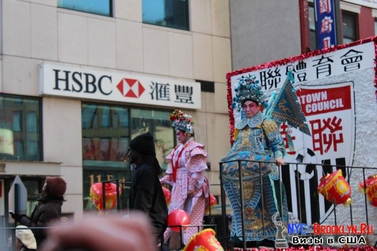 71. Парад в Нью-Йорке восточного Нового Года 2013 в Чайна Тауне - NYC-Brooklyn