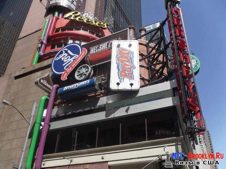 71. Фотоотчет Площадь Таймс Сквер в Нью-Йорке. Times Square New York - NYC-Brooklyn