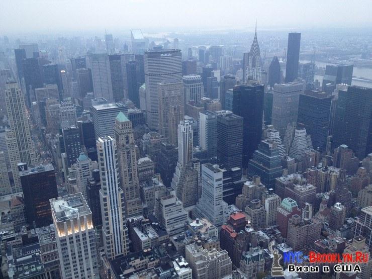 71. Фотоотчет Эмпайр Стейт Билдинг, Нью-Йорк, Empire State Building, New York - NYC-Brooklyn