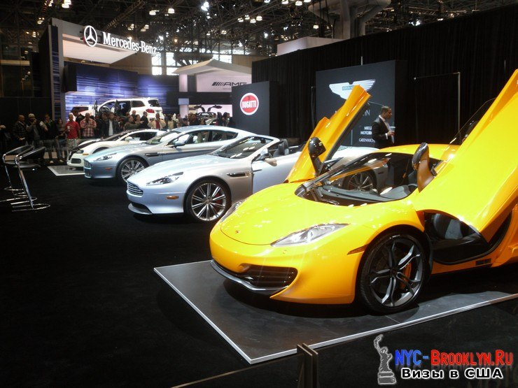 72. Автошоу в Нью-Йорке 2012. New York Auto Show - NYC-Brooklyn