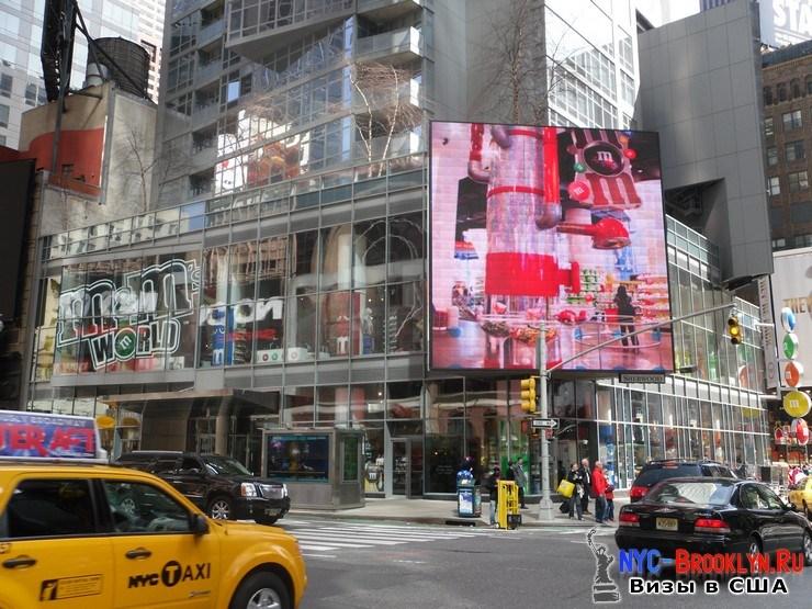 72. Фотоотчет Площадь Таймс Сквер в Нью-Йорке. Times Square New York - NYC-Brooklyn