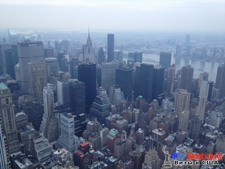 73. Фотоотчет Эмпайр Стейт Билдинг, Нью-Йорк, Empire State Building, New York - NYC-Brooklyn