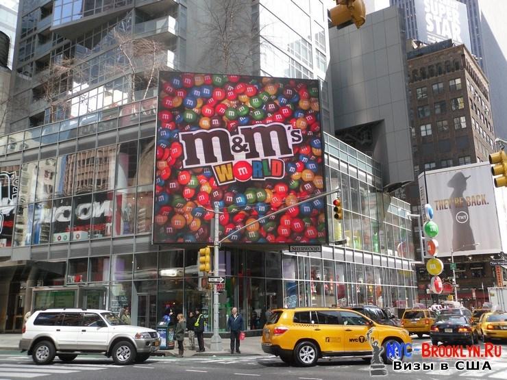75. Фотоотчет Площадь Таймс Сквер в Нью-Йорке. Times Square New York - NYC-Brooklyn