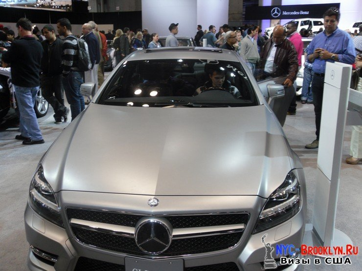 78. Автошоу в Нью-Йорке 2012. New York Auto Show - NYC-Brooklyn