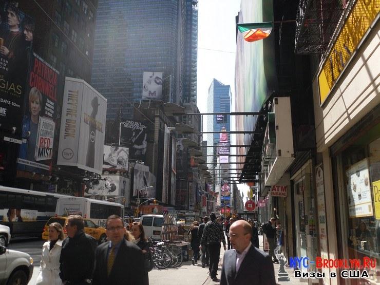 78. Фотоотчет Площадь Таймс Сквер в Нью-Йорке. Times Square New York - NYC-Brooklyn