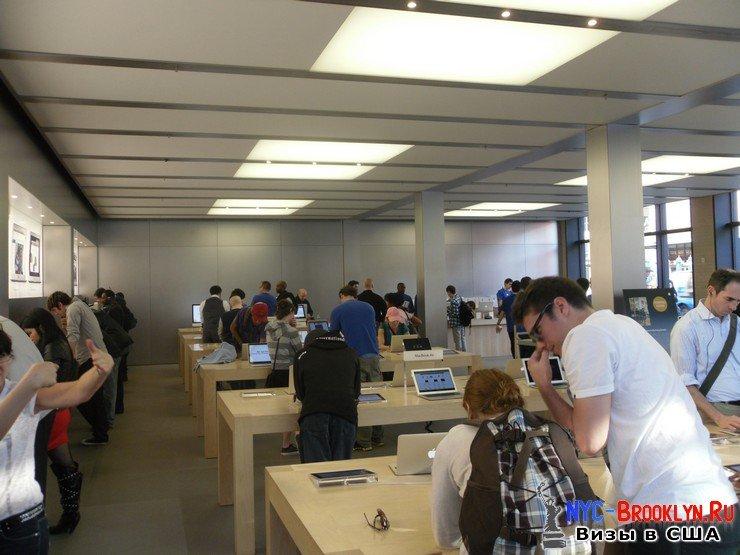 8. Магазин Apple Store в Нью-Йорке, на West 14th Street - NYC-Brooklyn