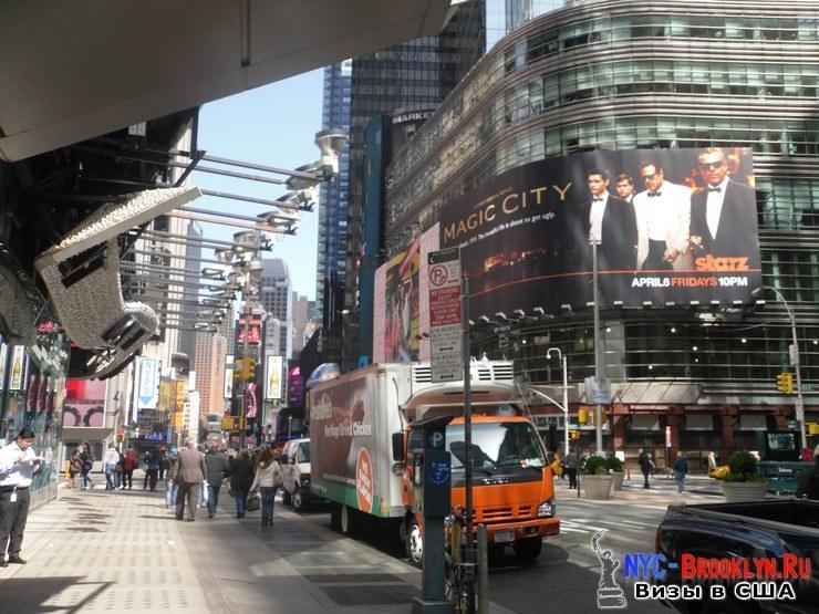 8. Фотоотчет Площадь Таймс Сквер в Нью-Йорке. Times Square New York - NYC-Brooklyn