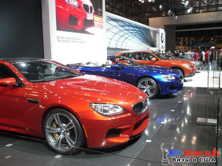 81. Автошоу в Нью-Йорке 2012. New York Auto Show - NYC-Brooklyn