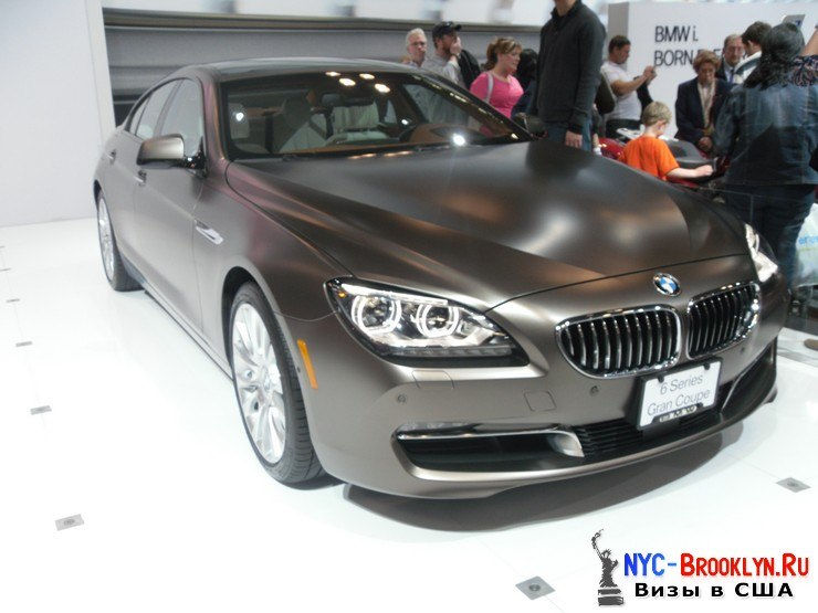 82. Автошоу в Нью-Йорке 2012. New York Auto Show - NYC-Brooklyn