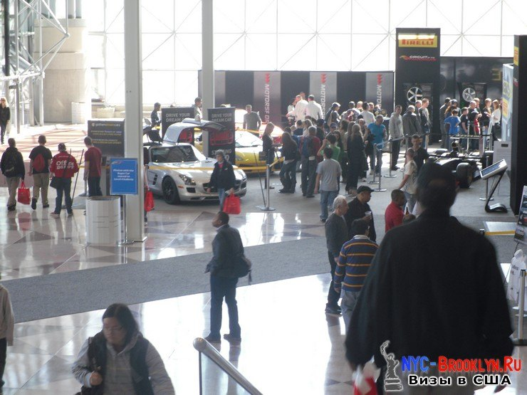 9. Автошоу в Нью-Йорке 2012. New York Auto Show - NYC-Brooklyn