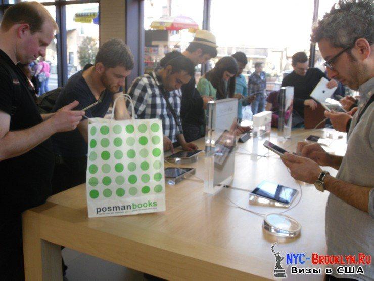 9. Магазин Apple Store в Нью-Йорке, на West 14th Street - NYC-Brooklyn