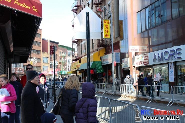 9. Парад в Нью-Йорке восточного Нового Года 2013 в Чайна Тауне - NYC-Brooklyn