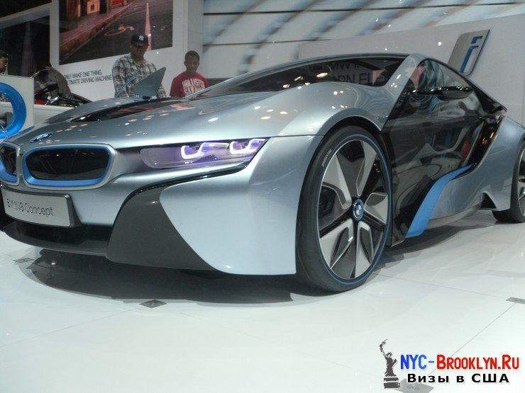90. Автошоу в Нью-Йорке 2012. New York Auto Show - NYC-Brooklyn
